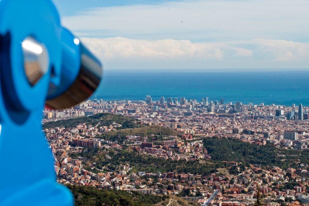 Mirador de Montjuic en Barcelona