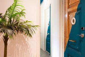 Room doors at Casa Vaganto