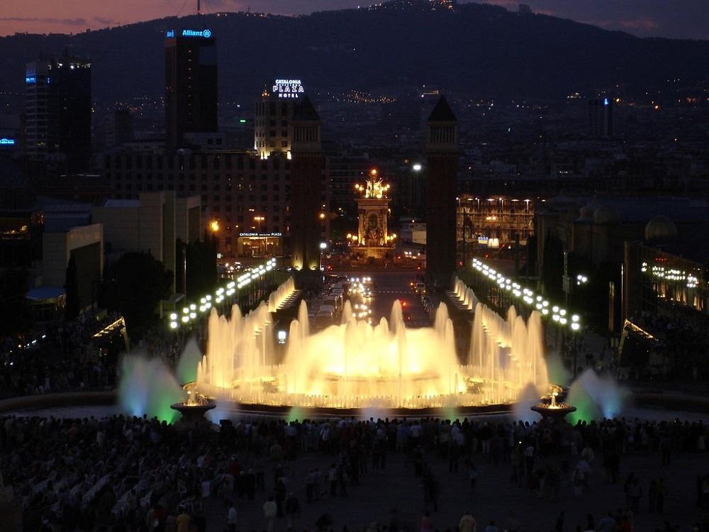 Font Magica en Montjuic, Barcelona