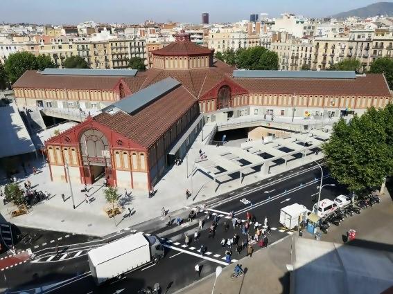 Mercado Sant Antoni en Barcelona