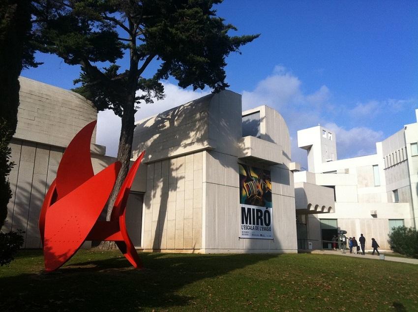 Fundació Joan Miró in Montjuic, Barcelona