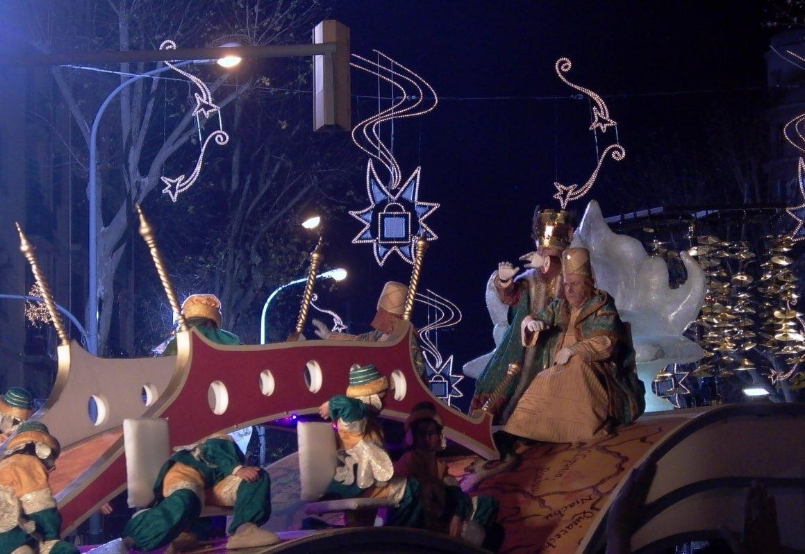Cabalgata de los Reyes Magos 2020 in Barcelona