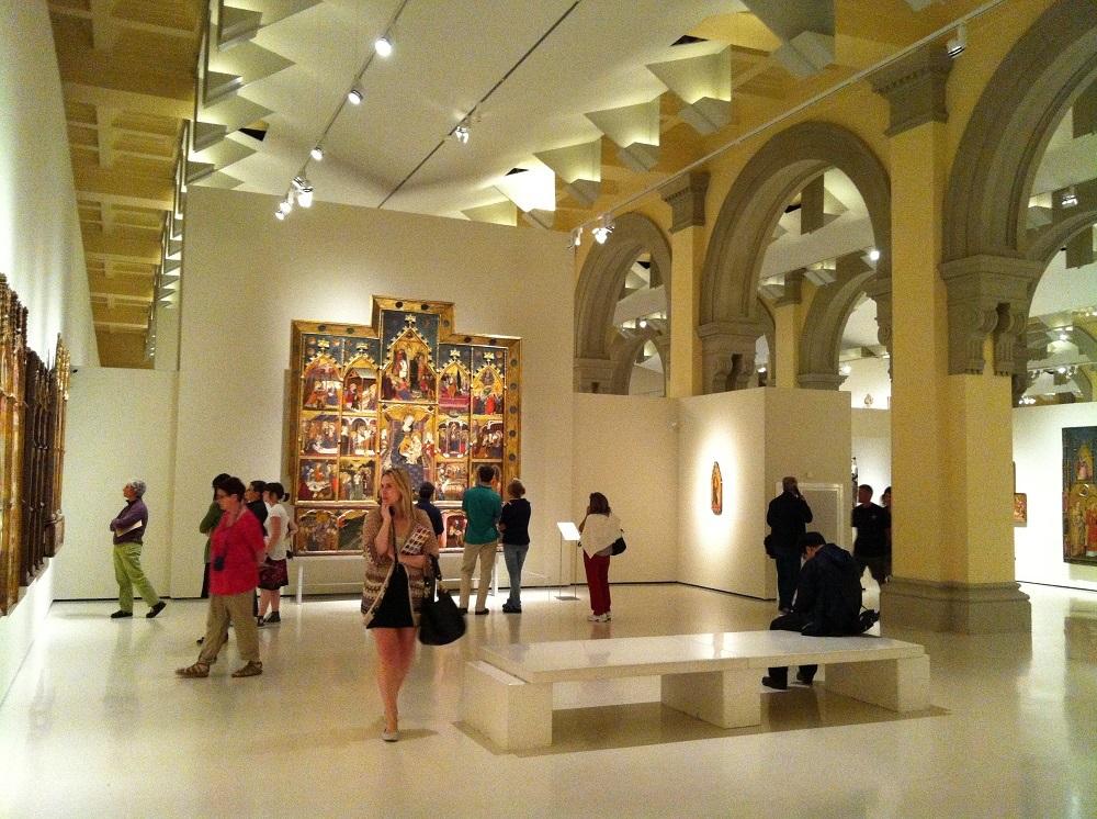 Museo Nacional de Arte de Cataluña in Barcelona