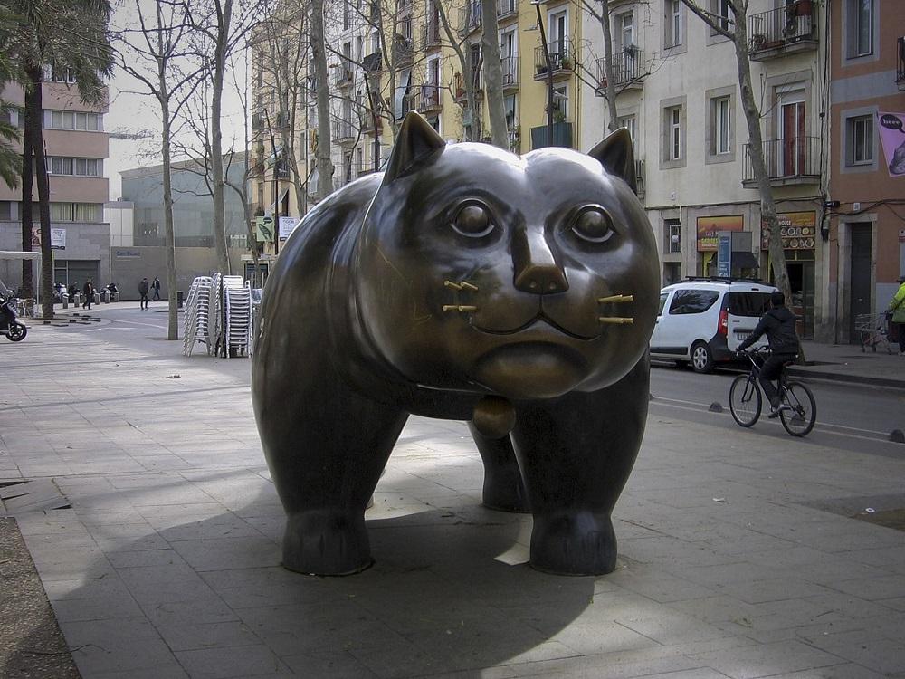 Gato de Botero - Blog Casa Vaganto